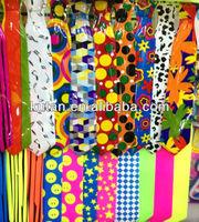Wholesale Pvc party bow tie/fans party decoration