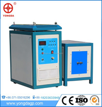 induction preheat solder diamond core bit welding machine