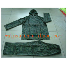PV-0151 Blue high quality waterproof military rainsuit