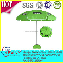 beach umbrella with cheap price made in china manufacturer polyester fabric metal frame