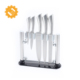 Alibaba Hot Products Professional 6pcs Kitchen Knife Set with Clear Acrylic Stand