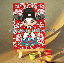 MA060 diy oil painting by numbers menglei