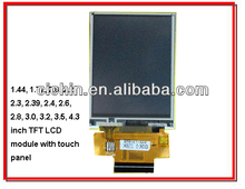 1.44, 1.77, 2.0, 2.2, 2.3, 2.39, 2.4, 2.6, 2.8, 3.0, 3.2, 3.5, 4.3 inch touch screen display