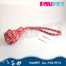 Various size new design dog toy pet cotton rope ball