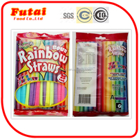 5g Rainbow sour powder straw candy