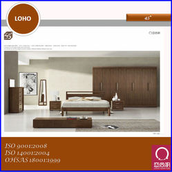 2014 New Veneer Furniture Bedroom Set Home furniture