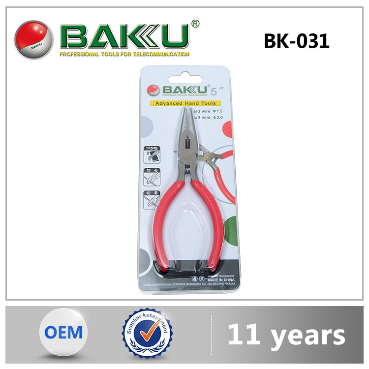 Baku Novel Product Mechanical Plier Highest Level Low Cost Newest Fashion Mobile Tools End Cutting Pliers To