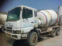 Japanese Brand Mitsubishi Mixer Truck, Used Concrete Mixer Truck Fuso 9 Cubic Meter Pretty Good Quality