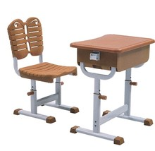 School Desk and Chair kindergarten furniture chair Classroom Kids Plastic Chairs Desk Set Study