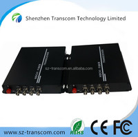 1-16Ch HDCVI/TVI Video Fiber Optic Transmitters Receivers/720P 1080P HDTVI Fiber video converter
