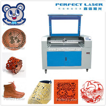 CE 80W 100W Leather / Acrylic / Plastic / Wood / Cloths / Garment CO2 new product laser cut 5.3 software