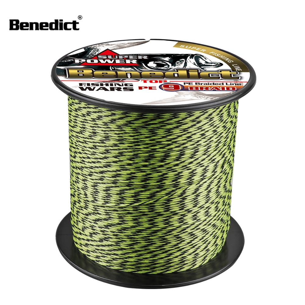 Quality braided fishing rope 500M 1000M <strong>pe</strong> 9 braid 15-110LB test 0.12mm 0.55mm 9 wires mix color saltwater tackle cord