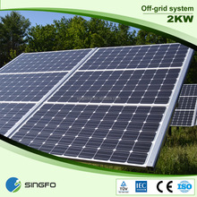 High quality 2kw converseness solar systems