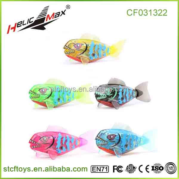 hot summer products Electronic fish 5 color Mixed plastic baby bath fishing toys China supplier cheap