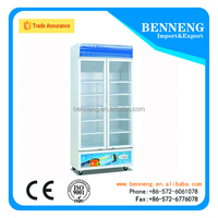 Large Capacity Commercial Vegetable / Fruit / Meat Refrigerator Showcase