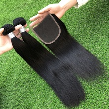 Tangle free human virgin hair grade 7A cheap hair straight brazilian hair styles pictures