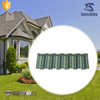 Roof material for house constrcution/stone coated metal roofing / colorful stone coated roof tiles