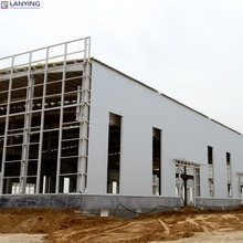 Modern Design Steel Construction Factory Building