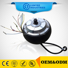 smart two wheels electric small dc motor brushless gear dc hub motor