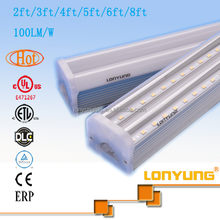 Energy saving t5 led tube 1.2m-2.4m double integrated light SAA approved japanese red tube