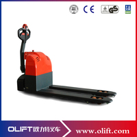 Good quality 1.5ton automatic scissor lift pallet truck(with CE)