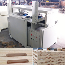 Best quality automatic wooden pallets keyway planer