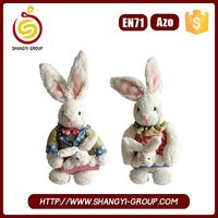 Wholesale novelty gifts high quality easter bunny toy and doll