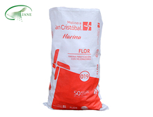 High quality china plastic 50kg pp woven bag custom packaging for flour fertilizer grains corn rice