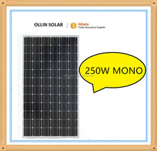 low price High efficiency and mono pv solar panel 250w