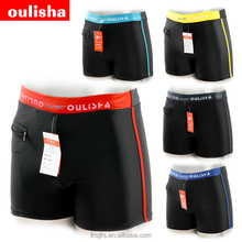 Direct factory hot sale five colors swim trunk/high quality stock swimwear men