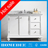 cheap wholesale antique bathroom vanity cabinet with marble top