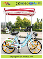 new arrival fashion design 2 person 2 seats tandem bike bicycle /used cheap surrey bike for couple