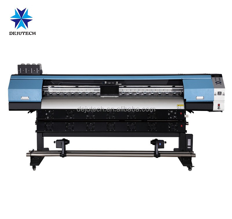 digital 1.6m eco solvent canvas printer inkjet plotter with dx5/dx7 printhead