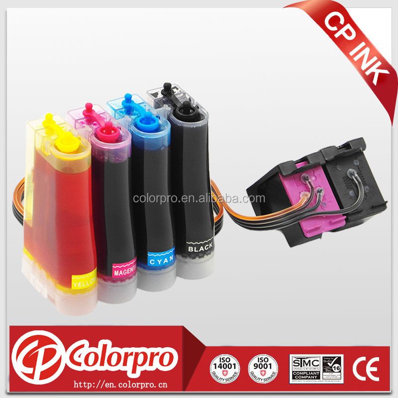 Compatible ciss kit for HP 302 xl ink cartridge with show ink level chip