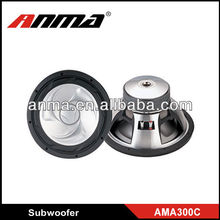 car 12inch dual subwoofer best car powered subwoofer