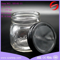 factory price 8 oz glass jar jam jar