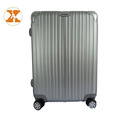 Aluminium Single Trolley Luggage ABS PC Aluminium Frame Luggage With Buckle