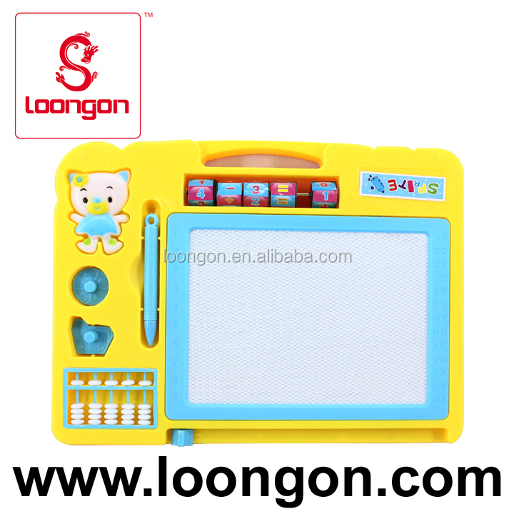 Loongon drawing board for child magnetic writing board