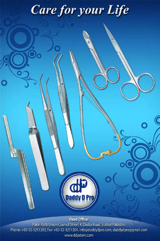 Set Of 7 Pieces Surgical Dental Instruments Banner