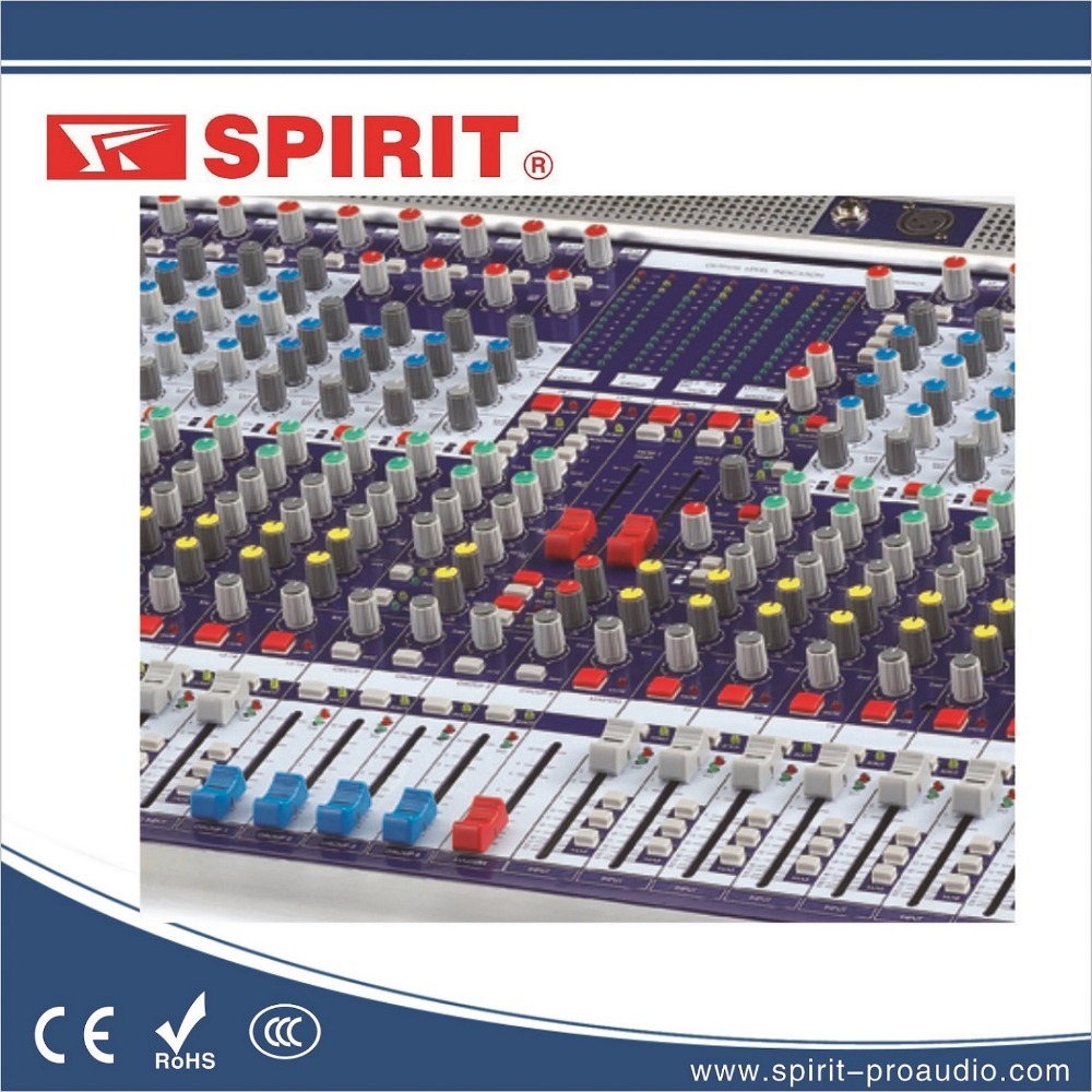 32 channel professional equipment audio mixer console KING-432 with 4 grouping output 4 monitor output 4 AUX dj controller