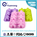 Factory Producing Silicone Ice Cube Tray Christmas Funny Shape Ice Cube