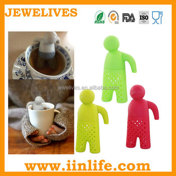 Good Quality Funny Design Silicone Tea Tool