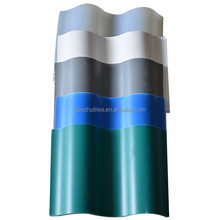 Pet house 1.5mm anti-aging colorful pvc roof tile
