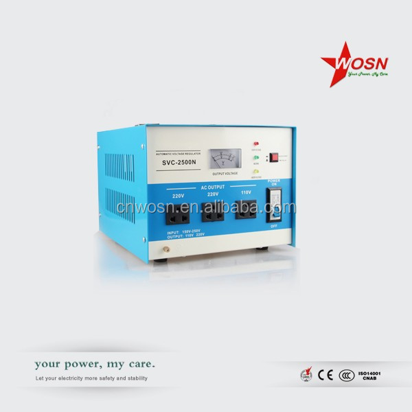 servo motor type SVC 5000va ac automatic voltage regulator