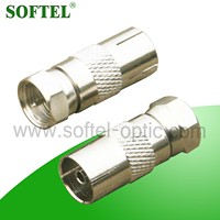 SF147 male female IEC connector ,rf switch connector/drop wire connector,braided wire connectors/2 wire connector