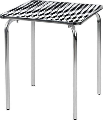 aluminum outdoor table