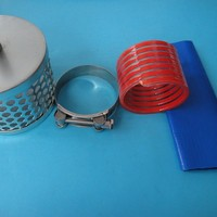 Clear Plastic PVC Corrugated Suction Helix Hose for oil food