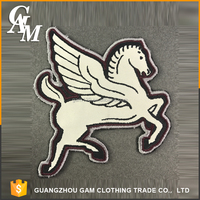 iron on embroidered patches embroidery textile patches with horse animal