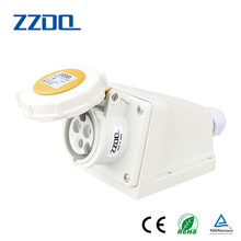High quality machine grade 3p+e industrial 32a 5 pin plug socket