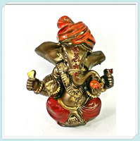 Antiques hindu good luck god lord ganesha statue